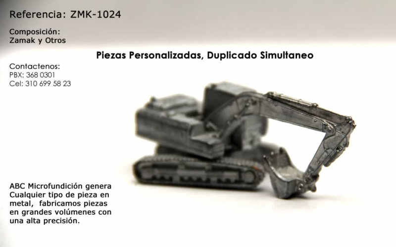 Abc Microfundicion Piezas Especiales